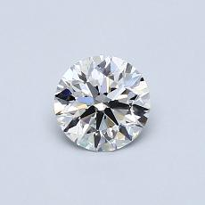 Recommended Stone #1: 0.52-Carat Round Cut Diamond