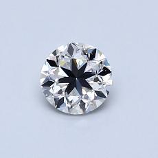 0.50-Carat Round Diamond Good G VS1