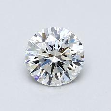 0.70 Carat 圓形 Diamond 理想 E VS1