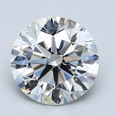 Recommended Stone #4: 2.20-Carat Round Cut