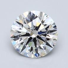 推薦鑽石 #3: 1.74  克拉圓形切割
