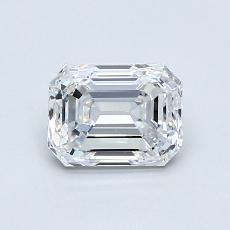 Recommended Stone #1: 0.93-Carat Emerald Cut Diamond