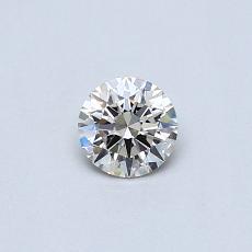推荐宝石 1:0.25克拉圆形切割钻石