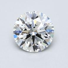 1.01-Carat Round Diamond Ideal E IF
