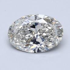 1.20-Carat Oval Diamond Very Good I VS1