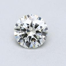 0.50-Carat Round Diamond Very Good K IF