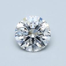 0.80-Carat Round Diamond Ideal E SI1
