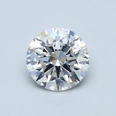 0.80 Carat 圆形 Diamond 理想 E SI1