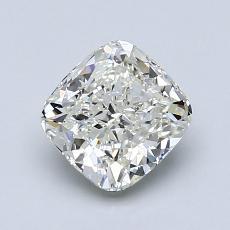 Pierre recommandée n°3: Diamant Taille coussin de 1,25carat