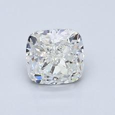 1.00-Carat Cushion Diamond Very Good H VS1