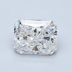 Recommended Stone #1: 1.23-Carat Radiant Cut Diamond