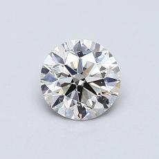 0.50 Carat 圆形 Diamond 理想 J SI2
