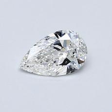 0.40 Carat 梨形 Diamond 非常好 F VS2