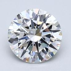 2.01 Carat 圓形 Diamond 理想 H VS2