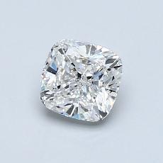 0.80-Carat Cushion Diamond Very Good F SI1