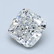 1.51-Carat Cushion Diamond Very Good F SI2