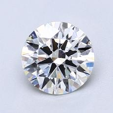 1,20 Carat Rond Diamond Idéale G VS2