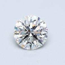 0.70-Carat Round Diamond Ideal G VS1