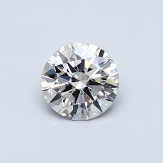 0.51 Carat 圆形 Diamond 理想 I VS1