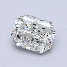 所選擇的鑽石: 1.01  克拉雷地恩明亮式切割鑽石