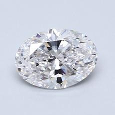 1.01-Carat Oval Diamond Very Good E VS2