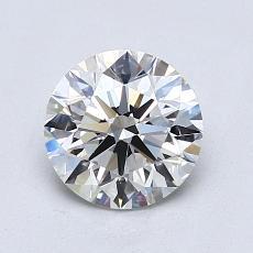 1.25 Carat 圆形 Diamond 理想 E VS1