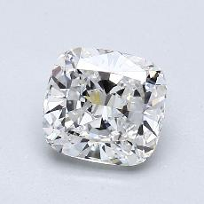 1.01-Carat Cushion Diamond Very Good F VS1