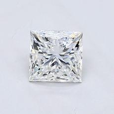 Recommended Stone #3: 0.81-Carat Princess Cut