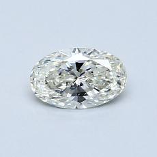推薦鑽石 #4: 0.50 克拉橢圓形切割鑽石