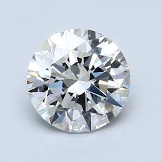 1.20-Carat Round Diamond Ideal G VVS2