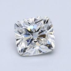 1.01-Carat Cushion Diamond Very Good E VVS2