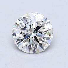 1.01 Carat 圆形 Diamond 理想 H VS2