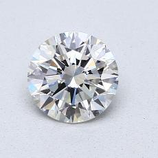 0.82 Carat 圆形 Diamond 理想 G IF