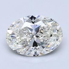 1.50-Carat Oval Diamond Very Good I VS2