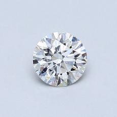 推薦鑽石 #4: 0.51 克拉圓形切割鑽石