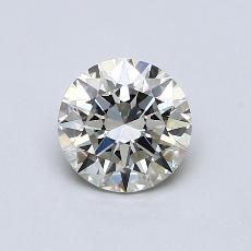 1,20-Carat Round Diamond Ideal K VVS2