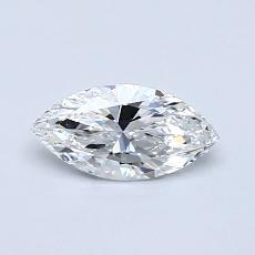 0.50-Carat Marquise Diamond Very Good D IF