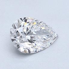 推薦鑽石 #1: 1.08 克拉梨形鑽石