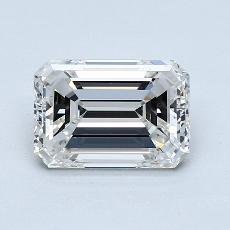 Recommended Stone #1: 2.01-Carat Emerald Cut Diamond