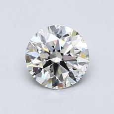0.81-Carat Round Diamond Ideal I SI1