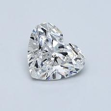 Recommended Stone #1: 0.70-Carat Heart Cut Diamond
