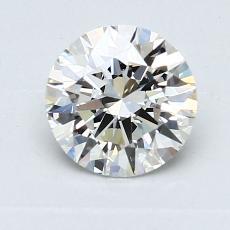 1,00-Carat Round Diamond Ideal I VS1