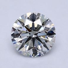 2.01 Carat 圓形 Diamond 理想 D VS1