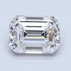 Recommended Stone #3: 2.30-Carat Emerald Cut Diamond
