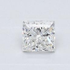 Recommended Stone #1: 0.60-Carat Princess Cut Diamond