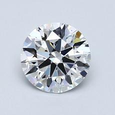 1.03 Carat 圆形 Diamond 理想 D VS1