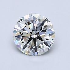 推荐宝石 4:1.06 克拉圆形切割
