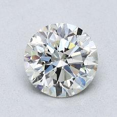 1,01-Carat Round Diamond Ideal K SI2