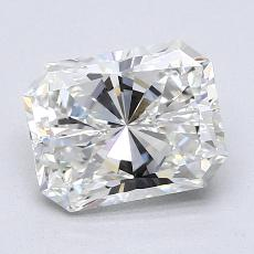 1.30 Carat Radiante Diamond Muy buena G VVS2