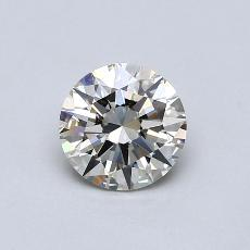 1,01-Carat Round Diamond Ideal K VVS2